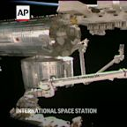 Astronauts prep station for new solar wings