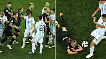 'Filthy' Argentina slammed after dirtiest game yet