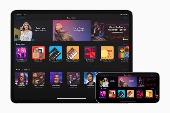 GarageBand can teach you how to remix songs from Dua Lipa and Lady Gaga
