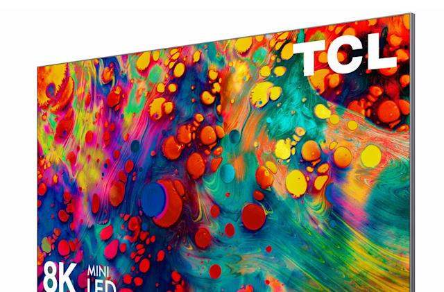 TCL pushes 8K and 'OD Zero' mini LED tech for its 2021 TVs