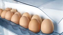 Why you should never store your eggs in the fridge door