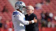Jerry Jones on Dak Prescott's injury: We should adjust expectations