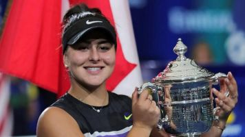 Tennis star Andreescu wins Lou Marsh Trophy as Canada's athlete of the year