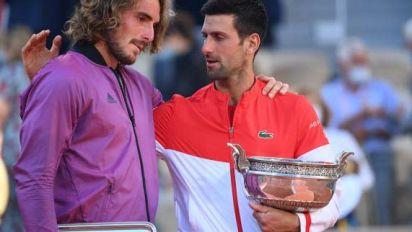 Roland-Garros (H) - Novak Djokovic (vainqueur de Roland-Garros face à Stefanos Tsitsipas) : « Je sentais que j'étais rentré dans sa tête »