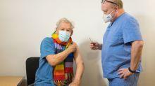 Sir Ian McKellen tells coronavirus 'you shall not pass' as he gets vaccine