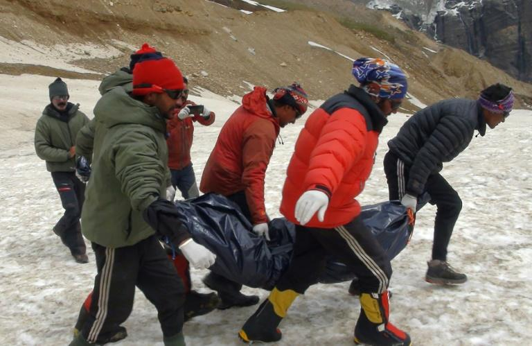 Video reveals last moments of Himalayan climbers
