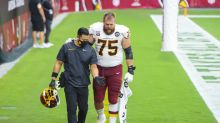Football Team places top OL Brandon Scherff on I.R. ahead of Week 3 meeting with the Browns