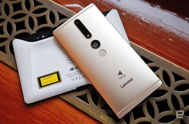 Up close and personal with the first Tango phone