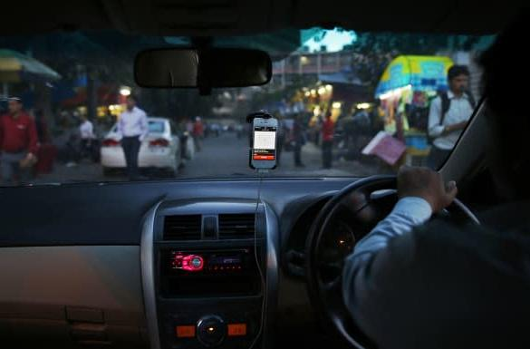 Uber's panic button can let cops in India know where you are