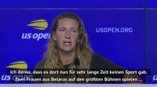 US Open: Azarenka: Sport wichtig für Belarus