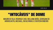 O Flamengo está de volta. E sete jogadores são os 'intocáveis' de Dome em retomada