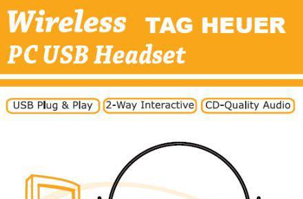 Creative-built TAG Heuer USB headset outed by FCC