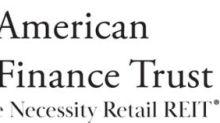 American Finance Trust Announces Third Quarter 2020 Results