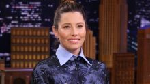 Jessica Biel Reacts to Old Interview Clip Where She Reveals She Wasn't a 'Huge Fan' of 'NSync