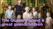 All of the Queen's grand and great-grandchildren