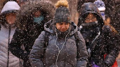 Winter storm wreaks havoc as temperatures plunge
