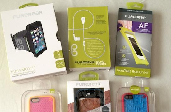 PureGear unleashes a torrent of accessories; we're giving them away