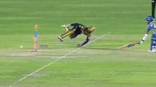 Keeper pulls off sublime backhand flick run-out in IPL