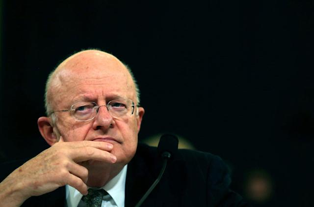 National Intelligence director James Clapper stepping down in January