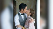 Grace Chan and Kevin Cheng are now husband and wife