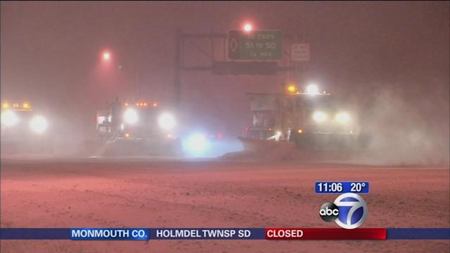 Long Island commuters advised to stay off the roads