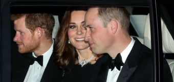 Princess Kate dazzles in Queen's necklace