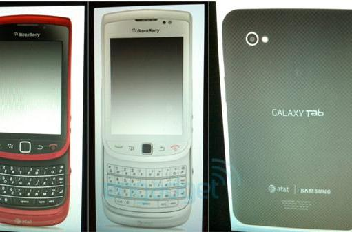 Exclusive: Galaxy Tab, red / white BlackBerry Torch and Samsung Focus hitting AT&T in Q4