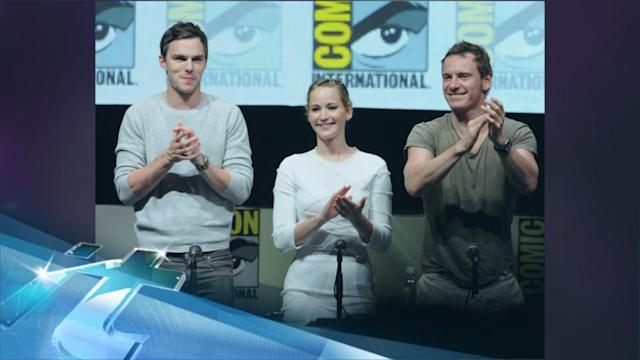 Jennifer Lawrence Goes To The Movies With Nicholas Hoult