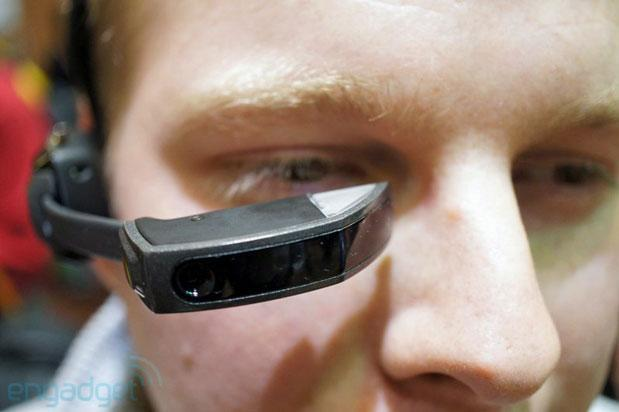 Vuzix Smart Glasses M100 hands-on at CES 2013 (update: now with video!)