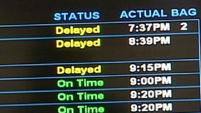 East Coast Storm Causes Airport Delays In Manchester