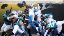 Stafford, Swift, Lions protect big lead, pound Jaguars 34-16