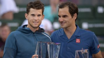 Thiem tops 'legend' Federer for Indian Wells title