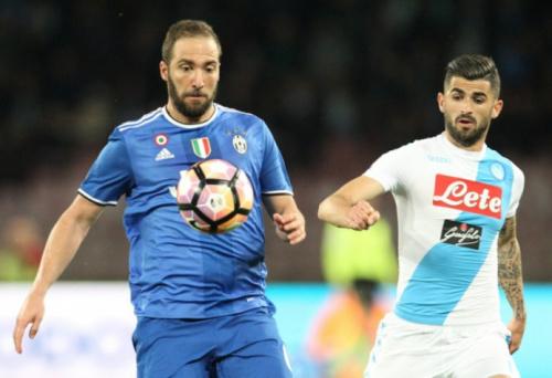 No retorno de Higuaín ao San Paolo, Napoli e Juventus ficam no empate