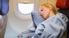 Sleeping on a plane during a change in altitude could damage your hearing