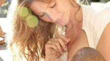 """Gisele Bündchen relembra amamentação da filha: """"Momento mais especial"""""""