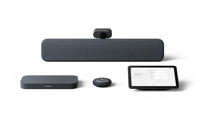 Google Meet Series One hardware office meeting room kits