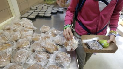 Cuts to food stamps, school lunches delayed