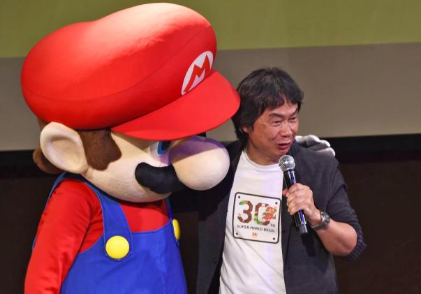 Shigeru Miyamoto will co-produce a 'Mario' animated movie