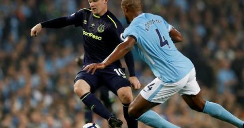 Foot - ANG - Manchester City arrache le nul contre Everton, Rooney buteur