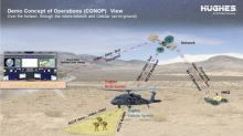 Hughes Partners with Startup to Create New Solutions for Extending LTE Coverage Using Helicopters, UAVs