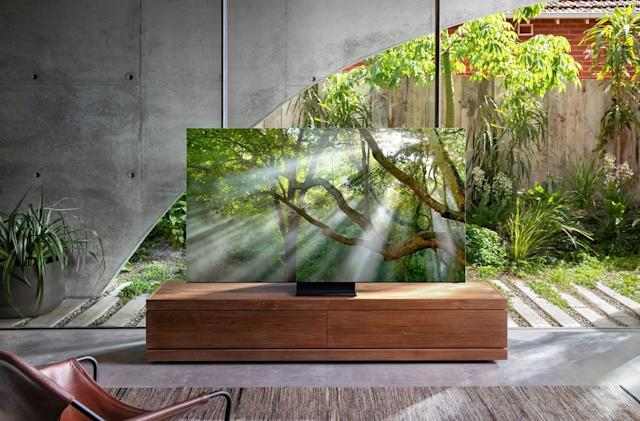 Samsung's zero-bezel 8K TV is real