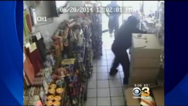 Police Searching For Armed Robbers In Olney