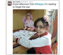 Bana Alabed, 7-year-old Aleppo girl, declared safe after Twitter disappearance sparks worldwide concern: report