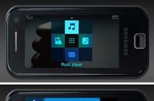 """Samsung F700, others to sport """"Croix"""" interface concept"""