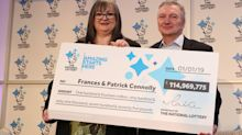 Couple who scooped £115m EuroMillions jackpot to share winnings with family and friends