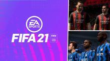 FIFA 21: Milan e Inter são confirmados como parceiros do jogo da EA Sports
