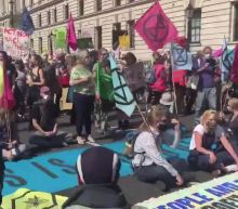 Several People Arrested as 10 Days of Extinction Rebellion Demonstrations Begin in London