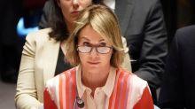 U.S. envoy to U.N. pushes back against criticism over protests
