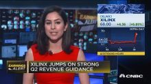 Xilinx jumps on strong Q2 revenue guidance