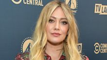 """Hilary Duff shuts down """"disgusting"""" false conspiracy theory"""